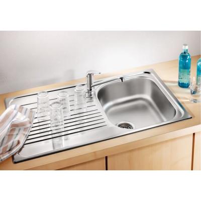 Кухонная мойка с нержавеющей стали Blanco TIPO 45 S, матовая (511942)