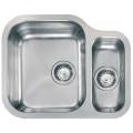 Кухонная мойка из нержавеющей стали CM Cinzia 57.7х47 2V полированная (011958)