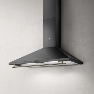 Пристінна кухонна витяжка Elica TAMAYA RAIL ANBR/A/90 Чорний