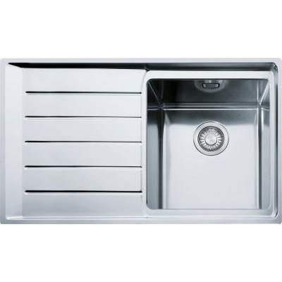 Кухонна мийка з нержавіючої сталі Franke NPX 611 крило зліва (101.0068.360)