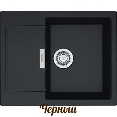 Кухонна мийка з тектонайту Franke S2D 611-62 Чорний (143.0627.288)