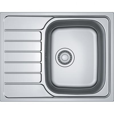 Кухонная мойка с нержавеющей стали Franke SKL 611-63, декор (101.0598.808)