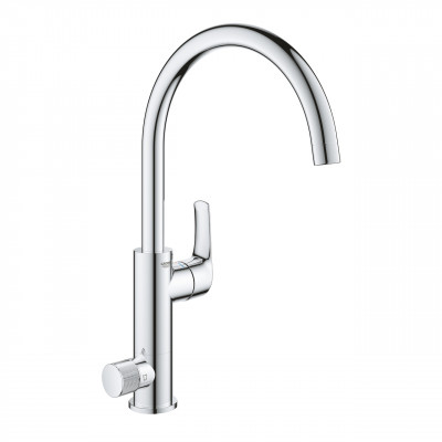 Кухонный смеситель с подключением к фильтрованной воде Grohe Eurosmart Хром (31722000)