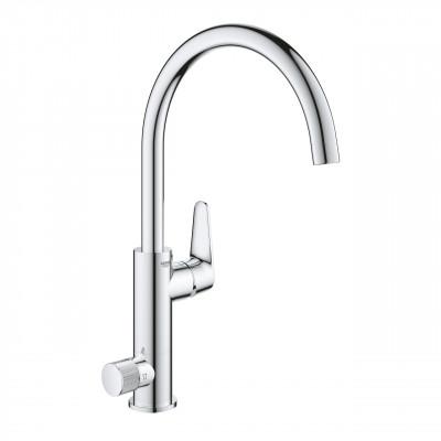 Кухонный смеситель с подключением к фильтрованной воде Grohe BauCurve Хром (31723000)